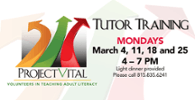 Project VITAL Tutor Training this March